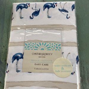 Cynthia Rowley Indoor/outdoor tablecloth